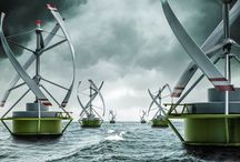 VAWT 3D Printed Wind Turbine
