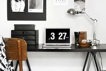 Office Decor - Leather Accents and Accessories for your Office by INV Home
