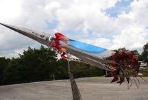 Wind Rockets / wind ships Kinetic stainless steel