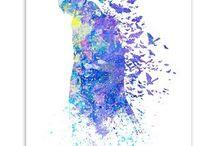 Watercolor - UPG