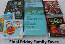 Family Favorite Books / Our family loves reading. Here are some of our faves:
