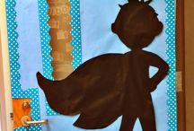 Super hero / Classroom bilingual theme for 2015-2016 / by Angela Pena