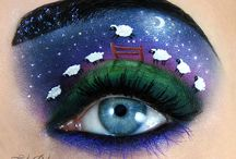 Art - Body & Face / Body art and face art with some nail art and hair art...