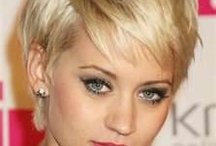 short hairstyles / by Julie Ford Dixon