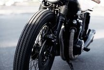 Café racers & mopeds