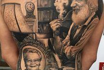Tatuajes traseros completos