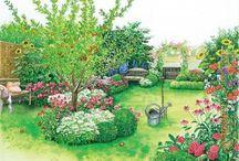 Traumhaus - Gartenplan