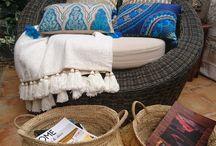 Coussins, artisanat balinais
