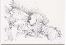 Tegning blyant