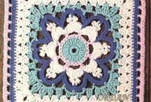crochet: squares / by Phebe-and-Jane