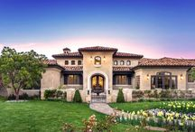 Single story resort homes