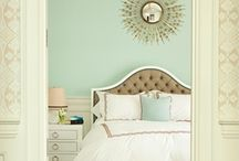 My mint bedroom / I want my new room to be a pastel mint colour