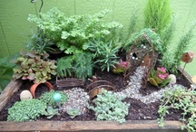 Fairy Gardens / I don't have one yet, but would LOVE to make one, so here's a collection of ideas and inspiration I've found through the amazing creativity of others!..  Maybe someday, there will be a few photos of my own!