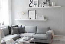 Huis - woonkamer