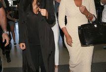 Kim & her mom