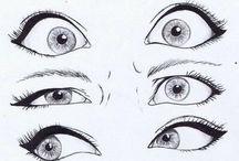 Olho e boca