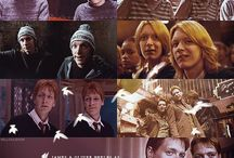 Fred and George Weasley♥ / Ahhso potterheads.. we all know Fred and George.  The twins. Our heros. The prankster. SO... heres sum pics.. Gred and Feorge... cant get over this.. hahahaha