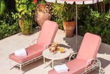 Beach Patio / Beach house patio decor inspiration!