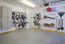 garage makeover / by Morgan Chapmn
