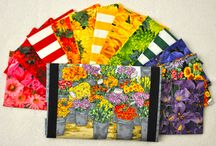 Fresh Market Flowers / Fabric collection designed by Firetrail Designs.