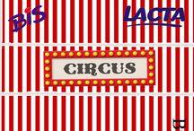 festa tema circo e patati patata