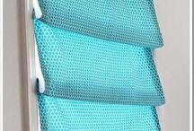 Sewing - Roman blinds