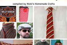 Crochet Patterns for Men