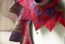 шали ,шарфы