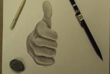 Drawing - Dibujo Pencil- Lapiz / by Fabricio Carballo