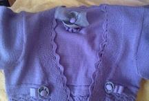 chaquetitas / Chaquetitas de punto...talla desde 3 meses hasta 6años