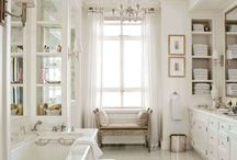 Bathroom inspiration / Ideas to help you create the perfect bathroom, whatever its size and shape.