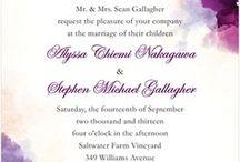 акварельная свадьба