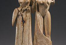 Grieken, Beeldhouwkunst, Archaïsch