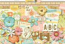 About Time Layouts / Layouts and digital scrapbooking inspiration using About Time by Misty Cato and Jady Day Studio. / by Misty Cato