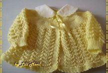 Casaquinho amarelo