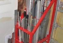 short steel storage