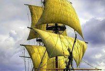 old school sails