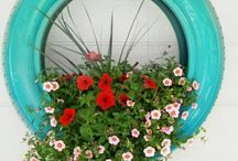 Do It Yourself Ideas With Old Tires – 20 Inspirational Examples