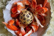 Easter decoration (The Paper Heart) / My ideas how to decorate with paper - recycling, crafting, painting...