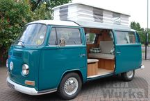 VW T2 1971   / great example of a VW T2 1971  fitted with Vanwurks Classic Interior Walnut