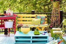 Outside Room/Porch Ideas / by Laci Barnett