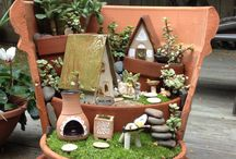 fairy gardens... / by Two Women and a Hoe®