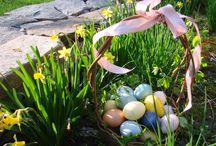 Velikonoční výzdoba zahrady / Jak vykouzlit velikonoční náladu na zahradě či v předzahrádce.