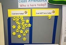 Classroom Management: Attendance / by Clutter-Free Classroom