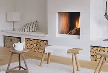 House ideas/fire place