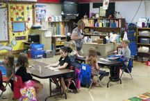 2013 - Pictures from the first day of school at Calvert Elem.