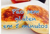 Pão em cinco minutos sem gluten