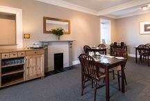 Derrybeg B&B Dining Room Pitlochry / Pictures of the dining toom at Derrybeg Bed and Breakfast Pitlochry