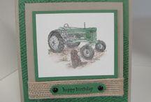 Traktor / basteln