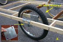 Cariole à vélo